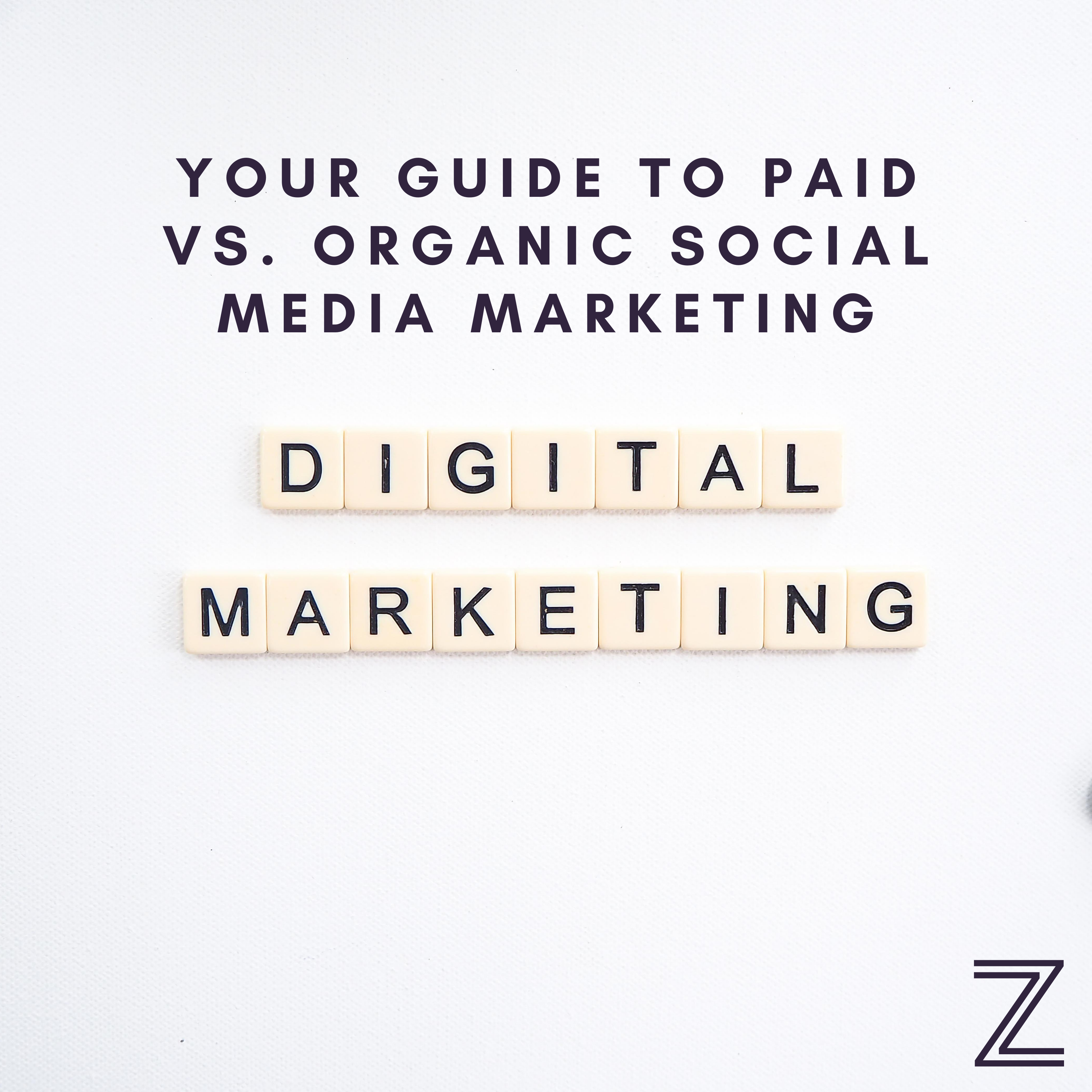 Your Guide to Paid vs. Organic Social Media Marketing